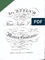 Giuliani - Duettino Facile per Chitarra & Flauto o Violino, Op.77.pdf