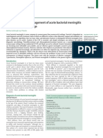 The Diagnosis and Management of Acute Bacterial Meningitis in Resource-poor Settings