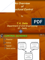 Overview of Structural Control in the Context of Retrofitting_Prof T K Datta