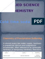 Cold Lime Soda Process