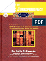 A Summary of Islamic Jurisprudence Volume 1