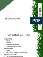 3.0 Organizing