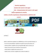 Smorfia Napoletana La Vera Cabala Del Lotto