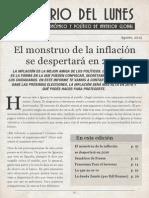 La Inflacion de Argentina