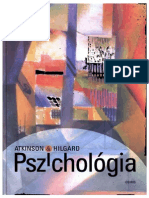 Richard C. Atkinson - Ernest Hilgard - Pszichológia-1999