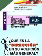 CURSO DE ACTUALIZACIÓN PARA DOCENTES CON FUNCIÓN DIRECTIVA