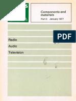 Component and Materials Part 3 Januari 1977
