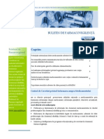 Buletin de Farmacovigilenta Nr 1 an 6 (2015)