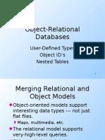 Object Relational Database Eng