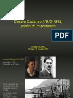 Cesare Cattaneo (1912-1943) - Profilo Di Un Architetto