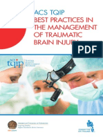Traumatic Brain Injury Guidelines
