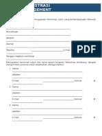 Formulir Pendaftaran Project Management (1)