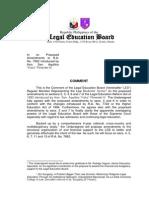 Comments to RA 7662 Amendments