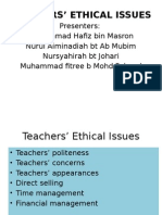 teachers_ ethical issues.pptx
