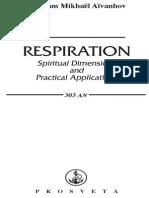 Respiration, Spiritual Dimensions and Practical Applications - Omraam Mikhaël Aïvanhov