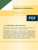 Teorias y Tecnicas de La Entrevista.