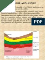 1 Minerales de La Zona de Oxidos