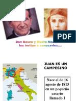 Vida de Don Bosco y Madre Mazzarello