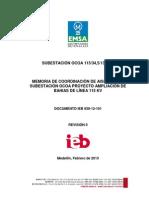 Descargadores EMSA Amplia Ocoa subestaciones