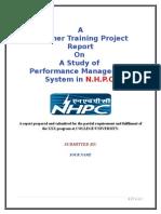 performance appraisal at nhpc ltd