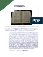 Persönliches Leben und öffentlicher Dienst (1. Timotheus 4, 6- 16)