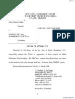 Cobb v. Google, Inc. et al - Document No. 12