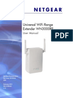 Netgear WN3000RP User Manual
