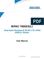 User Manual Bipac7800dx 7800dxl
