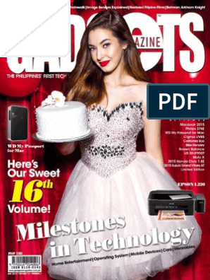 Gadgets - August 2015 PH | Consumer Electronics | Electronic