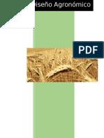 Diseño Agronómico Cultivo de Trigo