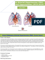 Global Pulmonary Arterial Hypertension (PAH)) Market