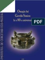 Ailincai Micu Mihail Omagiu Lui Gavrila Simion La a 80 a Aniversare 2008