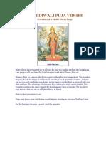 Sindhi Diwali Puja Vidhee