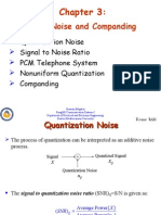 PCM Noise and Companding