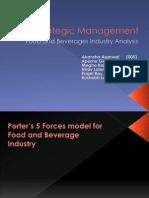 Food industry Analysis
