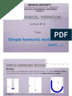 Mechanical Vibration 13-Batch Lec04