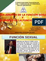 Ejercicio de La Funcion Sexual