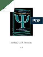 INFORME PSICOMETRICO # 3