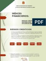ÍNDICES FINANCIEROS