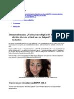 15. Dermatotilomania a Variedad Nosologica Del Toc