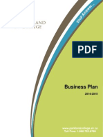 Parkland College 2014 15 Business Plan 5.14.14