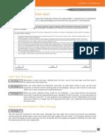 Summarize Written Text PTEA Strategies