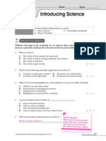 Chapter 1 to 7 Worksheet 1