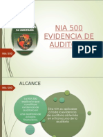 Evidencias de Auditoria - Nia 500 (1)