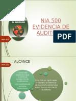 Evidencias de Auditoria - Nia 500 (1)