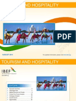 IBEF Tourism and Hospitality August 2014