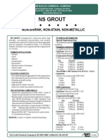 NS Grout