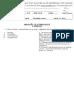 Teste II Unidade - 2 Not -Bio- 2015
