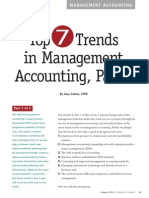 Trends in Management Accounting Part 2