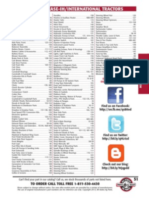 2013 CASE IH Tractor Parts Catalog | Piston | Cylinder (Engine)